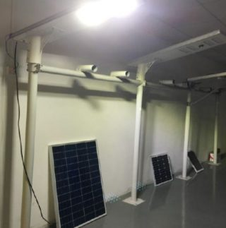 LED Solar Cell Street Light